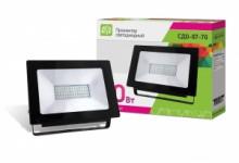 LLT Прожектор LED СДО-7-70 70Вт черный IP65