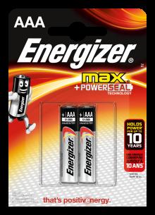 Батарейка ENERGIZER LR03 MAX 2BL