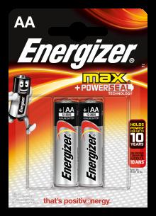 Батарейка ENERGIZER LR6 MAX 2BL