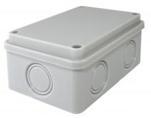 TDM распаячная коробка ОП 120х80х50мм,, IP55, 6 вх., б/гермовводов, выс. степень защиты от влаги