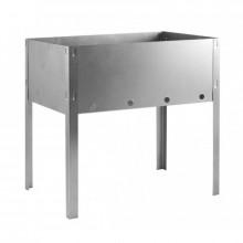 Мангал походный Эконом,30х24х30см,полиэт.упаковка,сталь 0,3мм