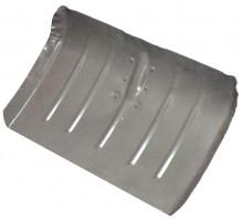 Лопата тротуарная стальная окрашеная порошком 428х375х0,8мм, ф32