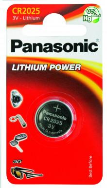 Батарейка PANASONIC CR 2025 B1