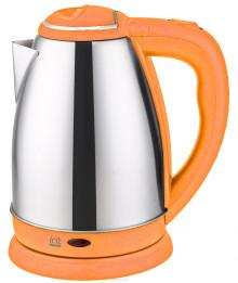 Чайник электрический IRIT IR-1347 авт. откл. защита от перегр, 1,8 л. 1500 Вт, (оранжевый)