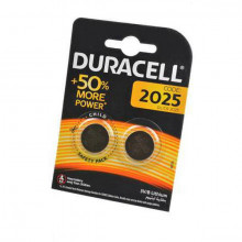 Батарейка DURACELL CR 2025 BL-2