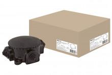 TDM коробка электромонтажная КЭМ 1-10-4М ОП D72 мм IP44, 4-х рожк. (карболит)