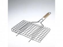Решетка для барбекю универсальная, оксид 360х260х18мм