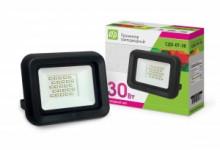 LLT Прожектор LED СДО-7-30 30Вт черный IP65