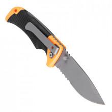 Нож туристический складной Чингизхан 19,0(8,5х0,25)см ручка двухкомпонентная