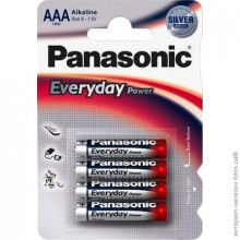 Батарейка PANASONIC LR03 EVERYDAY BP4
