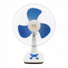 Вентилятор настольный IRIT IRV-026 диаметр решетки 43см. 40Вт. (в уп.2 штуки!!!)