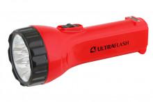 Фонарь ultra Flash Led3855 (аккум, красный,2 режима 7+6smd Led)