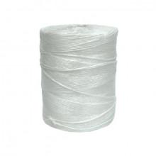 Шпагат полипропиленовый (800 текс) белый, бобина 500гр