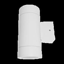 IN HOME Светильник уличный двухсторонний GX53S-2W-ЦИЛИНДР под лампу GX53 230B белый IP65