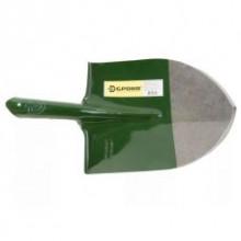 Лопата штыковая универсальня(американка) зеленная Броня, (вес 900-910 гр.)