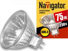 Лампа NAVIGATOR 94 207 JCDR GU5.3 230V 75W