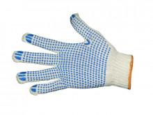Перчатки хлопчато-бумажные Пвх (иваново) белые 7,5кл.(6н.)