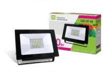 LLT Прожектор LED СДО-7-50 50Вт черный IP65