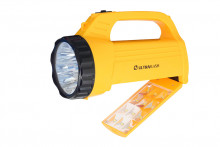 Фонарь ultra Flash Led3819сsм (акк,9+12 Smdled) Yellow