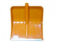 Лопата снегоуборочная Метель №3 пластмас. (цв) с ал.планкой 490х430мм, ф32