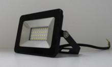 Прожектор LEEK LE FL SMD LED7  50W CW BLACK IP65 холодный белый (ультратонкий)