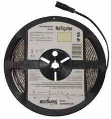 Светодиодная лента Navigator 71 404 Nls-3528b60-4.8-ip65-12v 5м синий