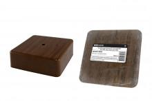 TDM коробка распаячная КР 75х75х28 ОП бук IP40, инд. штрихкод