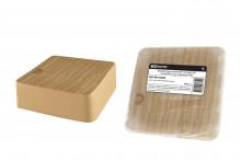 TDM коробка распаячная КР 75х75х28 ОП сосна IP40, инд. штрихкод