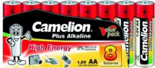 Батарейка CAMELION LR6 Plus Alkaline SP-8