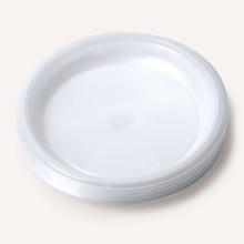 Тарелка 170 Мм прозрачная 20 Шт