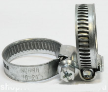 Norma torro S 16-27/9c7 W1 хомут червячный