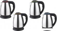 Чайник электрический IRIT IR-1338 авт. откл. защита от перегр, 1,8 л. 1500 Вт, нерж. зеленая вставка