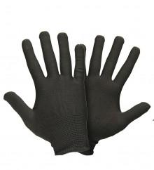 Перчатки нейлоновые (черные)