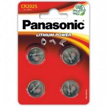 Батарейка PANASONIC CR 2025 B4