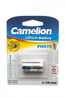 Батарейка Camelion CR123A BL-1