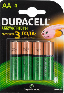 Аккумулятор duracell Hr6 Aab2 (1300 Mah) Bl-4