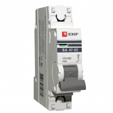 EKF авт. выключатель  ВА 47-63 1Р/16А С  PROxima