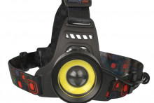 Фонарь ultra Flash E1335 (налобный,led,аккум 3,7в,2led, 4 Ватт, фокус, 2 укку., 4 режима)