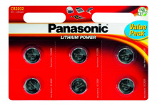 Батарейка PANASONIC CR 2032 B6