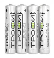 Батарейка Трофи LR03-4S