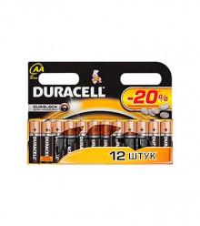 Батарейка DURACELL LR6 К12 (MN1500) BASIC