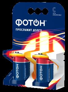 Батарейка ФОТОН LR14 2BL