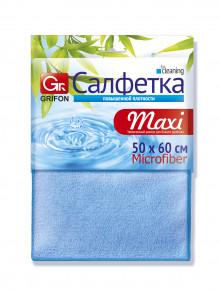 GRIFON салфетка из микрофибры МАXI 50 х 60,1 шт.