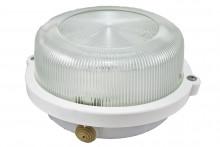 TDM светильник НПП 03-100-005.03 У3 (корпус с обручем без защитной решетки, белый)