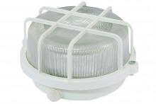 TDM светильник НПП 03-100-005.04 У3 (корпус и защитная  сетка-квадрат, белый)