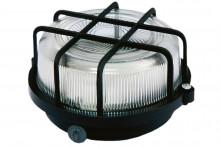 TDM светильник НПП 03-100-005.04 У3 (корпус и защитная  сетка-квадрат, черный)