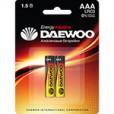 Батарейка DAEWOO LR03 BL-2
