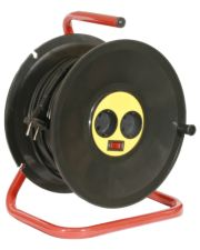Удлинитель на катушке КРОНА РС-2  50м (ПВС 2х1)