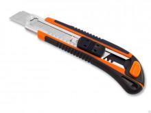 Нож с сегм. лезвием, 18мм, пластик. корпус