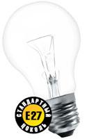 Лампа NAVIGATOR 94 301 NI-A-75W-CL-E27-230V